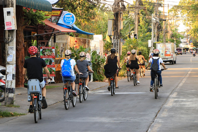 Cycling Tour Chiangmai City