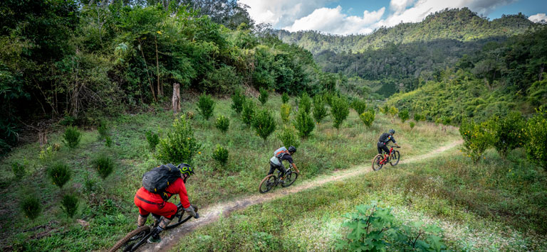 Chiang Dao Mountain Biking