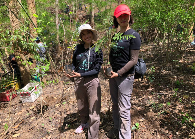 Tree Planting Support in Chiang Dao