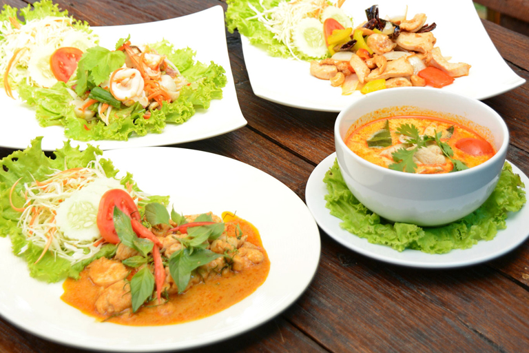 Variety of Thai Dishes