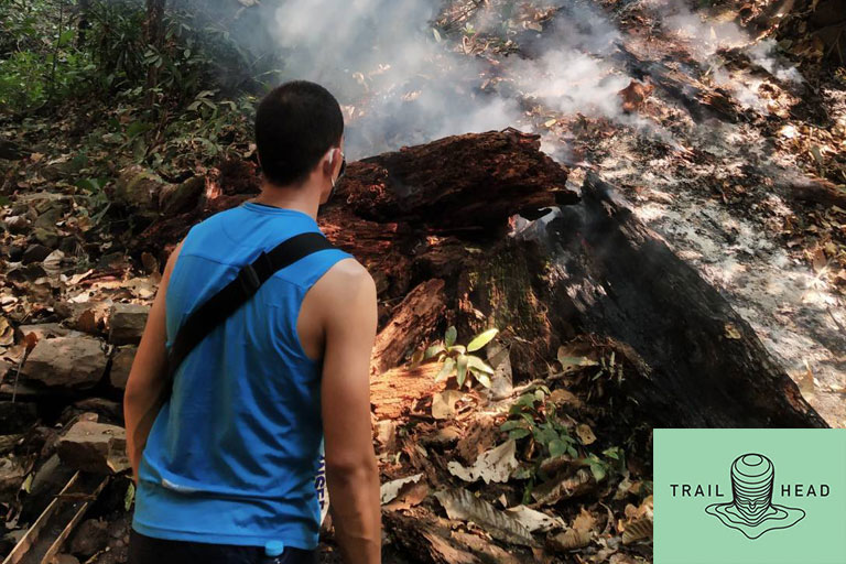 Forest Fire Chiang Mai